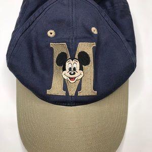 Vintage Mickey Mouse Disney baseball cap dad hat